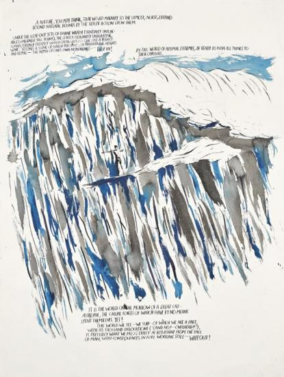 Untitled (a Nature You May…) Artwork by Raymond Pettibon